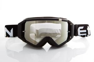 Maschera DIRT GOOGLES ZeroCinque MX0507 per Sport fuoristrada. Nero/Bianco