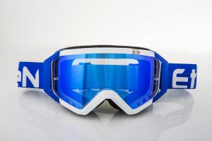 Maschera DIRT GOOGLES ZeroCinque MX0520 per Sport fuoristrada. Blu/Bianco