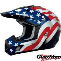 Casco moto cross America - taglia S
