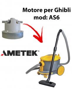 Motore Ametek di aspirazione per Aspirapolvere GHIBLI, modello AS6