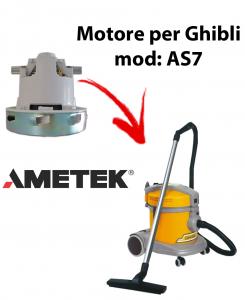 AS7 P Motore Ametek di aspirazione per Aspirapolvere GHIBLI