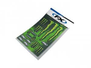 KIT ADESIVI MONSTER ENERGY XL, 49x33cm