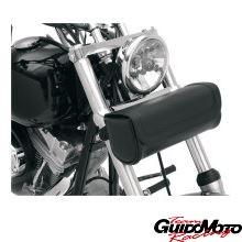Borsa moto custom in pelle portattrezzi grande