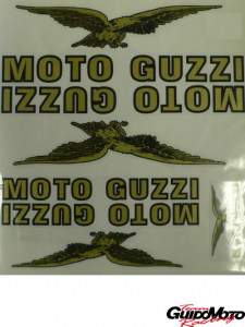 Kit 6 adesivi Moto Guzzi 51194R