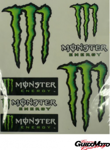 Serie adesivi monster
