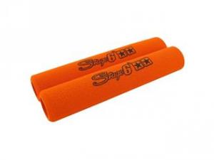 Coppia di copri leve STAGE6 arancio ANTISCIVOLO