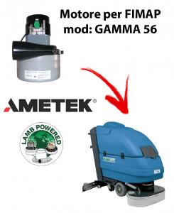 GAMMA 56 MOTORE aspirazione AMETEK per lavapavimenti FIMAP