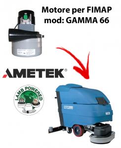GAMMA 66 MOTORE aspirazione AMETEK per lavapavimenti FIMAP