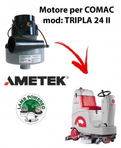 TRIPLA 24 II MOTORE aspirazione AMETEK per lavapavimenti Comac