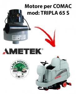 Tripla 65S MOTORE aspirazione AMETEK  lavapavimenti Comac a partire dal 2009