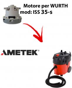 Motore Ametek di aspirazione per aspirapolvere WURTH ISS 35-S AUTOMATIC