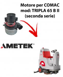 TRIPLA 65B II MOTORE aspirazione AMETEK ITALIA per lavapavimenti Comac