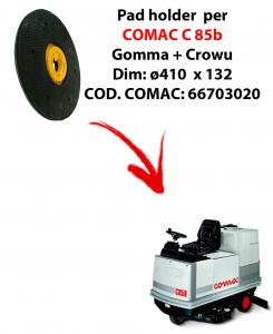 TRASCINATORE ( pad holder) per lavapavimenti COMAC C 85.