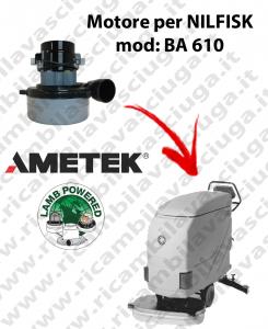 Motore aspirazione Lamb Ametek per Lavapavimenti Nilfisk BA 610