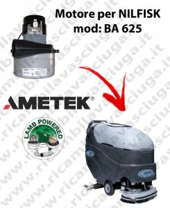 Motore aspirazione Lamb Ametek per Lavapavimenti Nilfisk BA 625