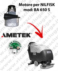 Motore aspirazione Lamb Ametek per Lavapavimenti Nilfisk BA 650 S