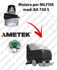 Motore aspirazione Lamb Ametek per Lavapavimenti Nilfisk BA 750 S