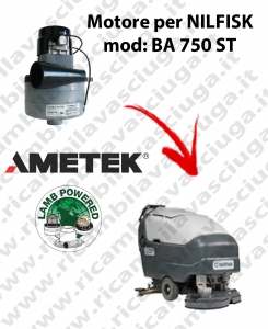 Motore aspirazione Lamb Ametek per Lavapavimenti Nilfisk BA 750 ST