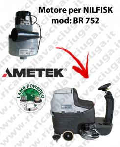 Motore aspirazione Lamb Ametek per Lavapavimenti Nilfisk BR 752