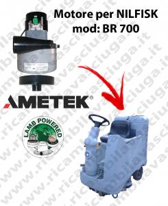 Motore aspirazione Lamb Ametek per Lavapavimenti Nilfisk BR 700