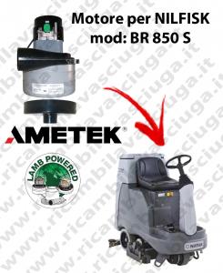 Motore aspirazione Lamb Ametek per Lavapavimenti Nilfisk BR 850 S