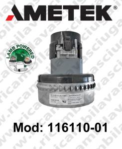 Motore aspirazione  LAMB AMETEK 116110-01 per lavapavimenti e aspirapolvere