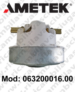 Motore aspirazione 063200016.00 AMETEK per aspirapolvere