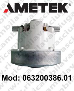 Motore aspirazione 063200386.01 AMETEK per aspirapolvere