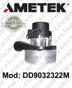 Motore aspirazione AMETEK ITALIA DD9032322M per lavapavimenti e aspirapolvere