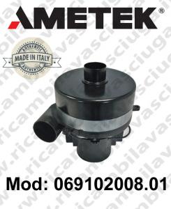 Motore aspirazione AMETEK ITALIA 069102008.01 per lavapavimenti