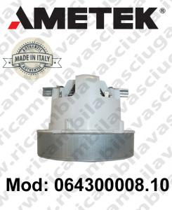 Motore aspirazione 064300008.10 AMETEK ITALIA per sistemi aspirazione centralizzati