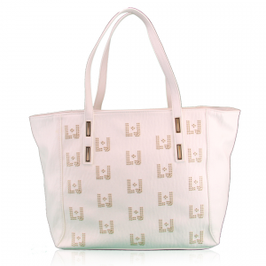 Shopping bag Liu Jo IRACLIA LOGO N16111 E0035 WHITE