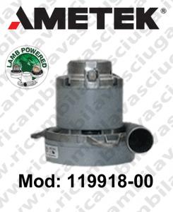 Motore aspirazione Lamb Ametek 119918-00 per sistemi centralizzati