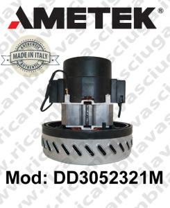 Motore aspirazione Ametek Italia DD3052321M per lavapavimenti e aspirapolvere