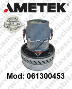 Motore aspirazione 061300453.00 AMETEK ITALIA per lavapavimenti ,aspirapolvere e aspiraliquidi
