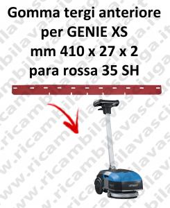 Gomma tergipavimento anteriore per lavapavimenti FIMAP - GENIE XS