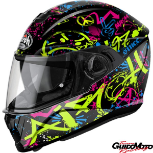 Casco integrale AIROH mod. STORM COOL BICOLOR