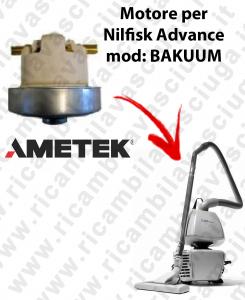 BAKUUM Motore aspirazione AMETEK per aspirapolvere NILFISK