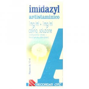 IMIDAZYL ANTISTAMINICO COLLIRO 10 ML A BASE DI NAFAZOLINA