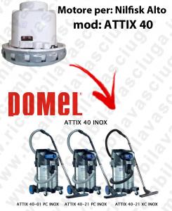 MOTORE DOMEL  per ATTIX 40 aspirapolvere NILFISK ALTO