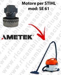Motore aspirazione AMETEK per aspirapolvere SE 61 - STIHL