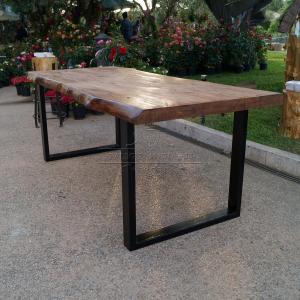 tavolo impero tavolo in legno massello di castagno con