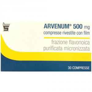 ARVENUM 500 MG FARMACO A BASE DI FRAZIONE FLAVONOICA MICRONIZZATA
