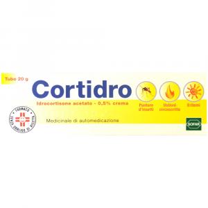CORTIDRO: IDROCORTISONE ACETATO IN CREMA 20 GR