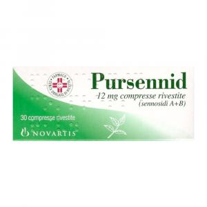 PURSENNID 30 COMPRESSE A BASE DI SENNOSIDI A +B