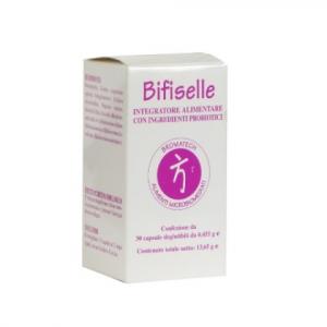 BIFISELLE - Integratori Probiotici Fermenti Lattici - Flora Batterica Intestinale
