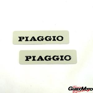 5780 COPPIA TARGHETTE ALLUMINIO CIAO PX PIAGGIO