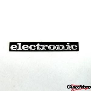Adesivo -electronic- in alluminio per Piaggio Ciao FL e SI  10008