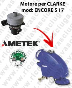 Motore aspirazione Lamb X lavapavimenti Clarke Encore S17