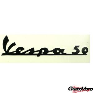 3379ADESIVO SCUDO ANTERIORE VESPA 50 NERO PIAGGIO